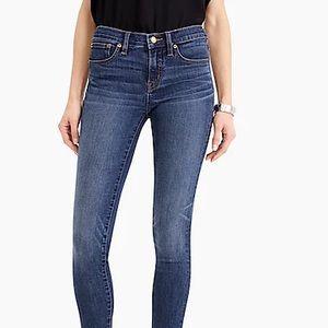 J.CREW   Matchstick mid rise dark wash jeans